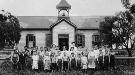 Influences on American Education timeline