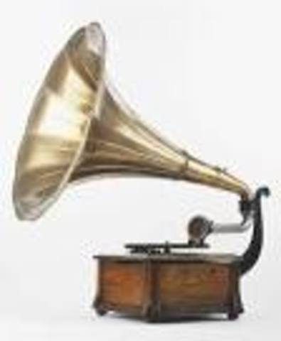 Gramophone Patented