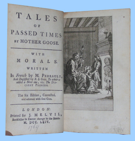 """""""The Tales of Mother Goose"""""""