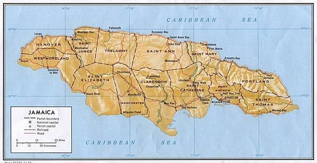 Jamaica Land Discovered