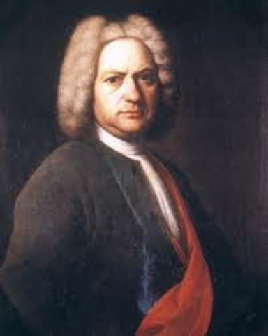 He was born in Eisenach, Germany, on March 21, 1685,
