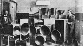 història de l'enregistrament i reproducció del so (Noemi Pérez i Laia Garriga) timeline