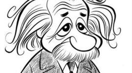 Cartoon Timeline of Albert Einstein