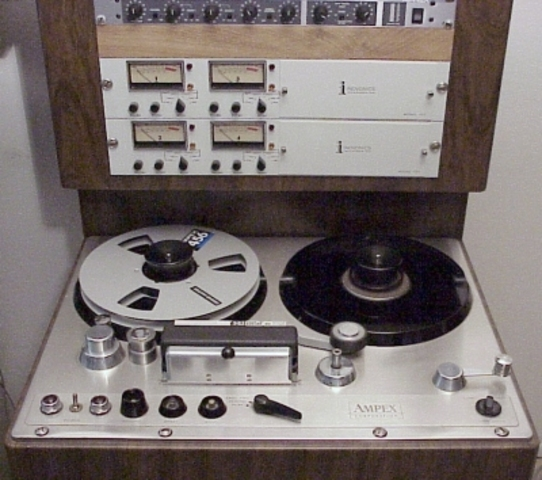 Ampex Makes First Tape Recorder