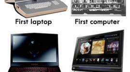 LA EVOLUCION DE LOS COMPUTADORES timeline