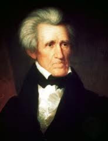 Andrew Jackson is Born