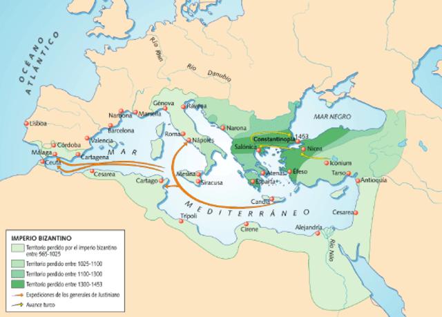 caída del Imperio Bizantino
