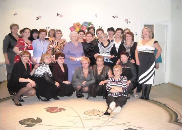 Коллектив детского сада в 2010