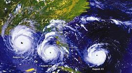 Hurricane Andrew August 1992 timeline