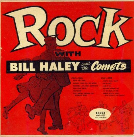 Bill Haley and The Comets Record Hits Pop Charts