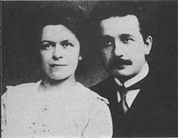 Divorce of Mileva Maric and Albert Einstein