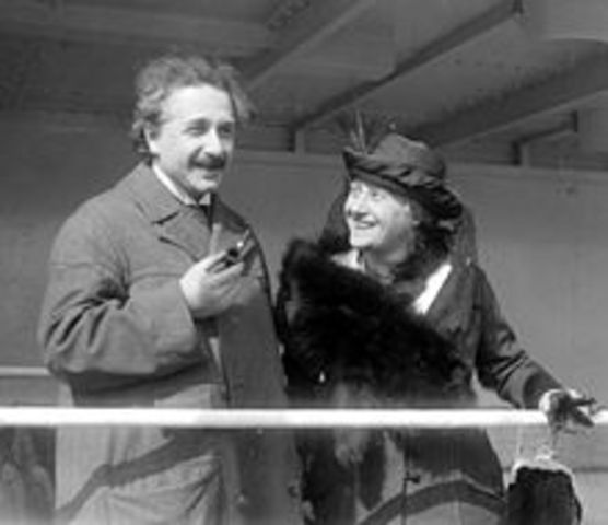 Wedding of Elsa Lowenthal and Albert Einstein