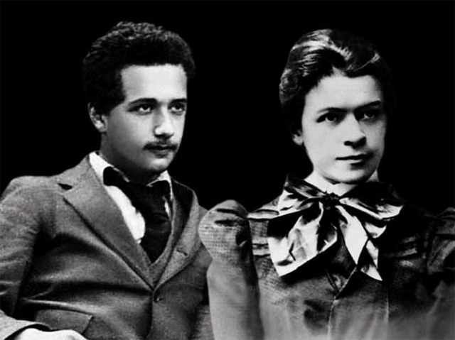 The Wedding of Albert Einstein and Mileva Maric