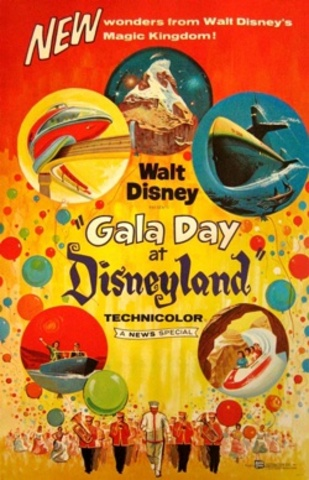 """The Disneyland special """"A Gala Day at Disneyland"""" was released"""
