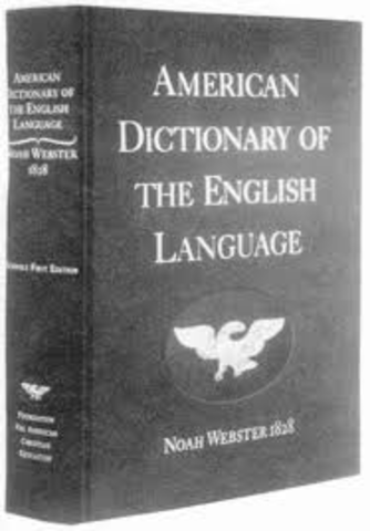 noah webster dissertation on the english language Find great deals for dissertations on the english language by noah webster (1783, paperback) shop with confidence on ebay.