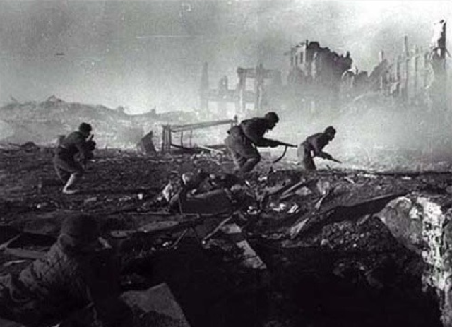 Germans Are Defeated at Stalingrad
