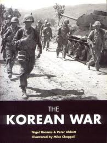 The history of the korean war and its influence on the cold war