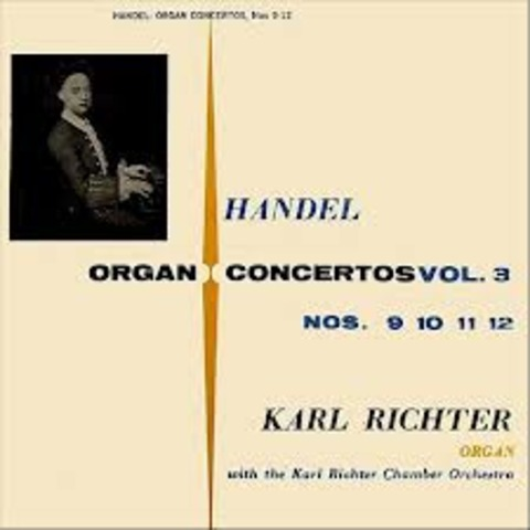 Start the composition of Six Organ Concertos
