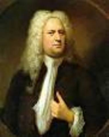 George Frideric Handel is born