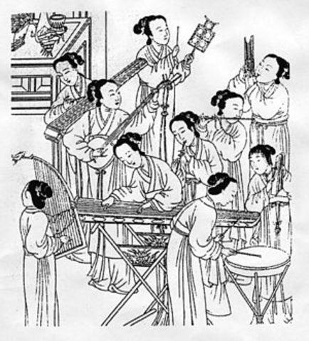 En la tradicional china antigua