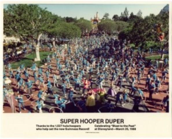 Disneyland stages the Super Hooper Duper