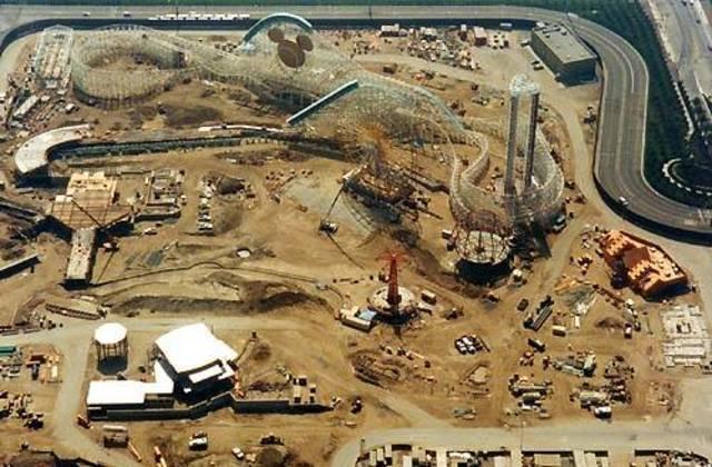 Construction begins for Disney's California Adventures