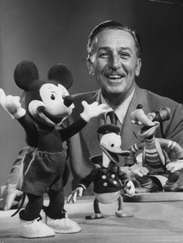 Walt Disney dies