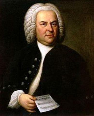 Johann Sebastian Bach is born