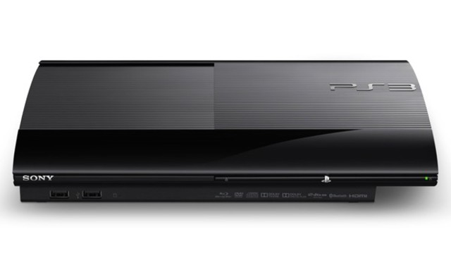"""Super Slim"" PlayStation 3."