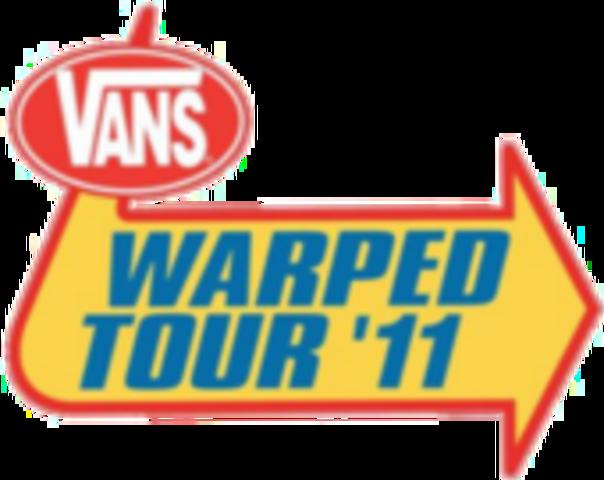 Il a choisi Warped Tour 2011