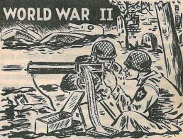 World War II timeline | Timetoast timelines