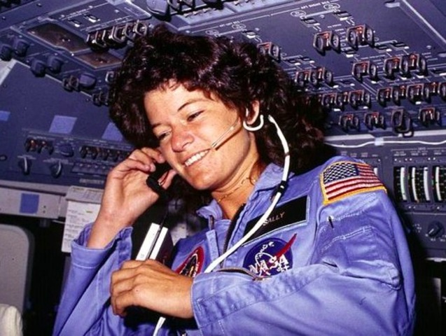 Sally Ride Travels to Space