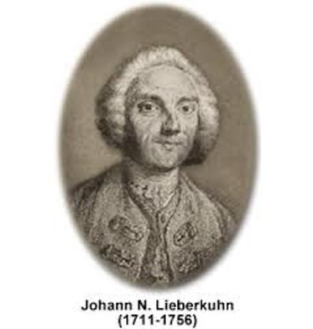 "nacimiento del modelo ""Lieberkühn"""