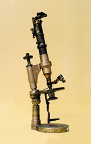 microscopio monocular de 28 cm