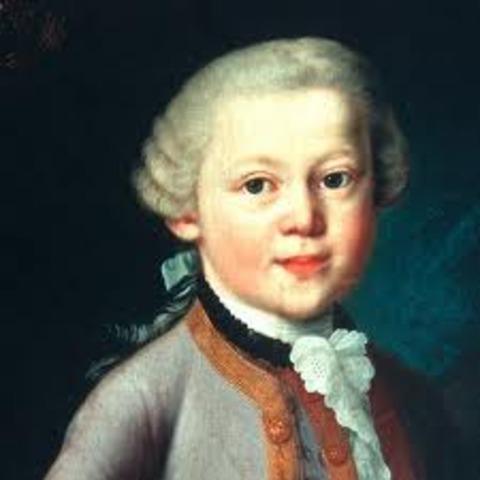 Naixement de Mozart