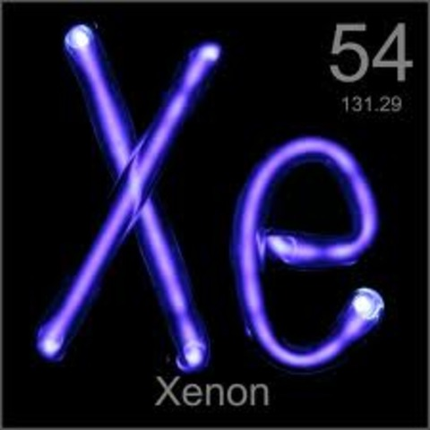 Discovery of Gas Xenon.