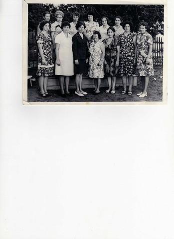 Коллектив педагогов 1970 года