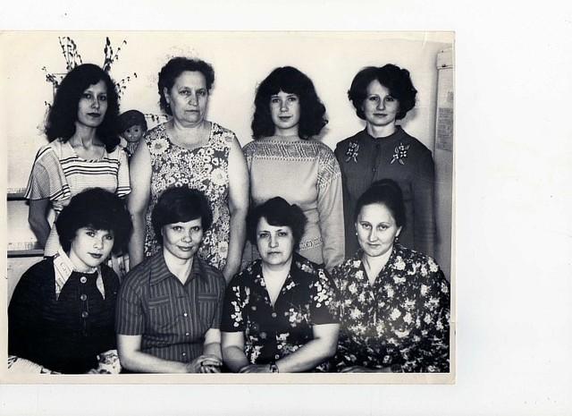 Педагогический коллектив 1980 год