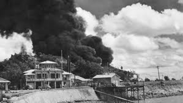 Japanese aircraft bomb Darwin