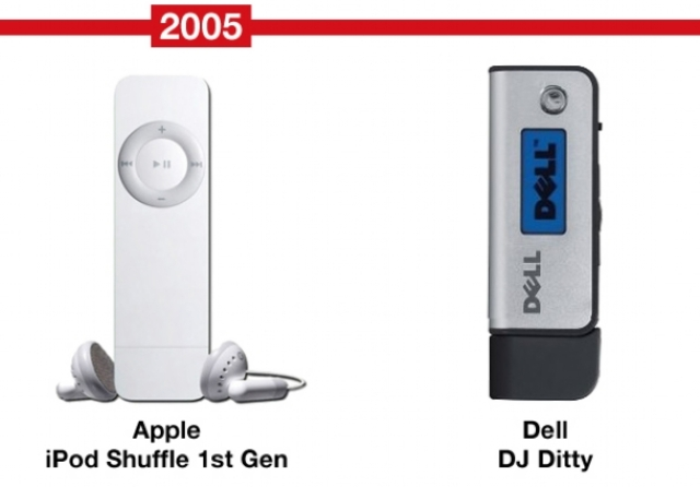 The screens of mp3 players go away