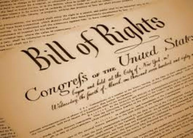 Bill of Rights Passed