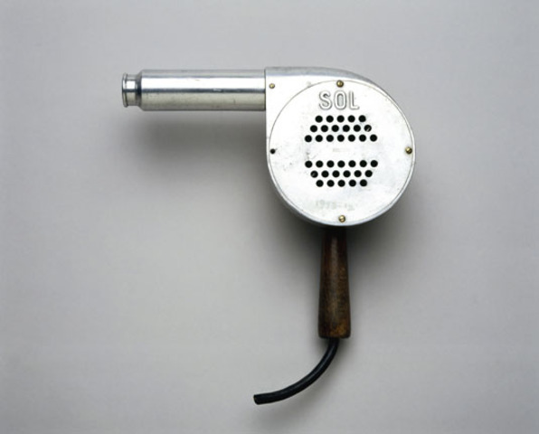 The first portable hair dryer