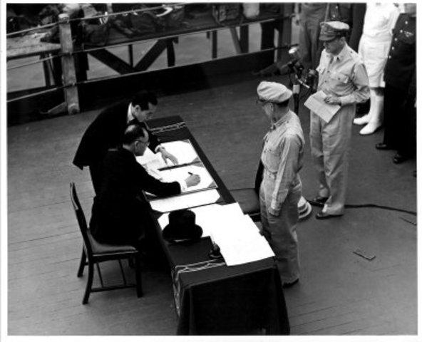 Japan surrender date in Sydney