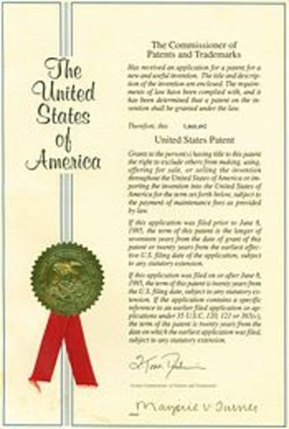 James Hargreaves Recieves a Patent