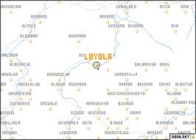 Loyola Spain Map.Saint Ignatius Of Loyola Timeline Timetoast Timelines