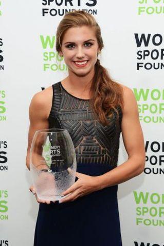 Alex Won the American Sportswoman of the Year Award