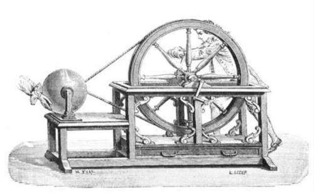Primera máquina electrostática