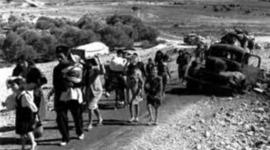 היווצרות בעיית הפליטים הפלסטינים בין השנים 1947-1949 timeline