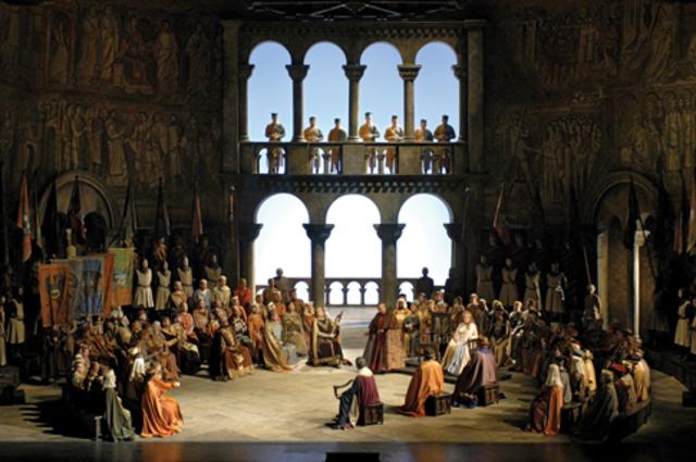 La música destaca per l'òpera romàntica i el lied.
