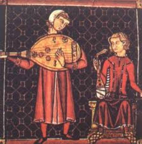 Es crea la música trobadoresca